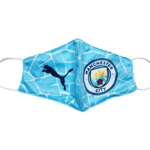 face masks manchester city blu 2020-21