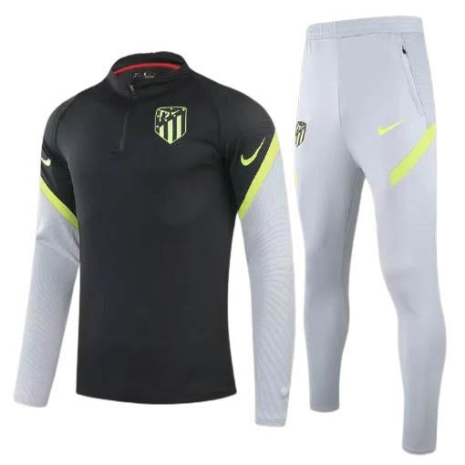 felpa atletico de madrid nero 2020-21