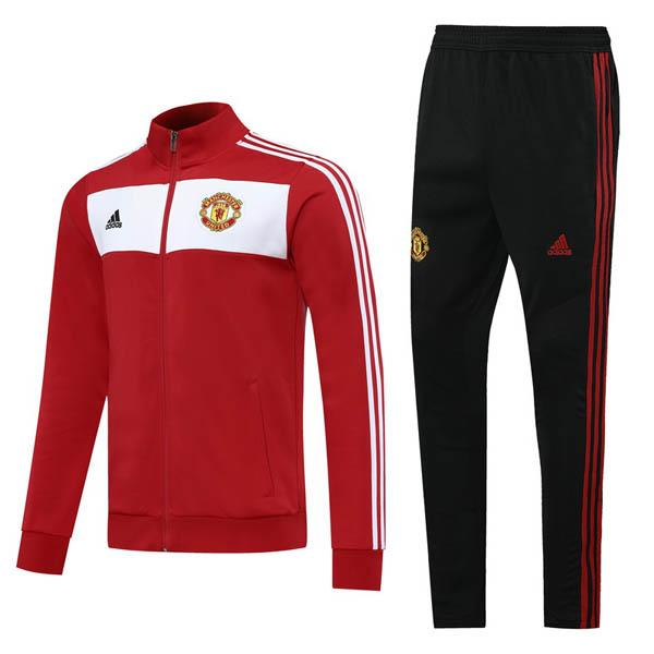 giacca manchester united rosso-bianco 2020